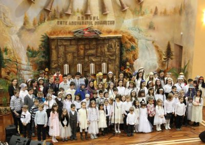 Programul Şcolii Duminicale – 24 Decembrie 2013